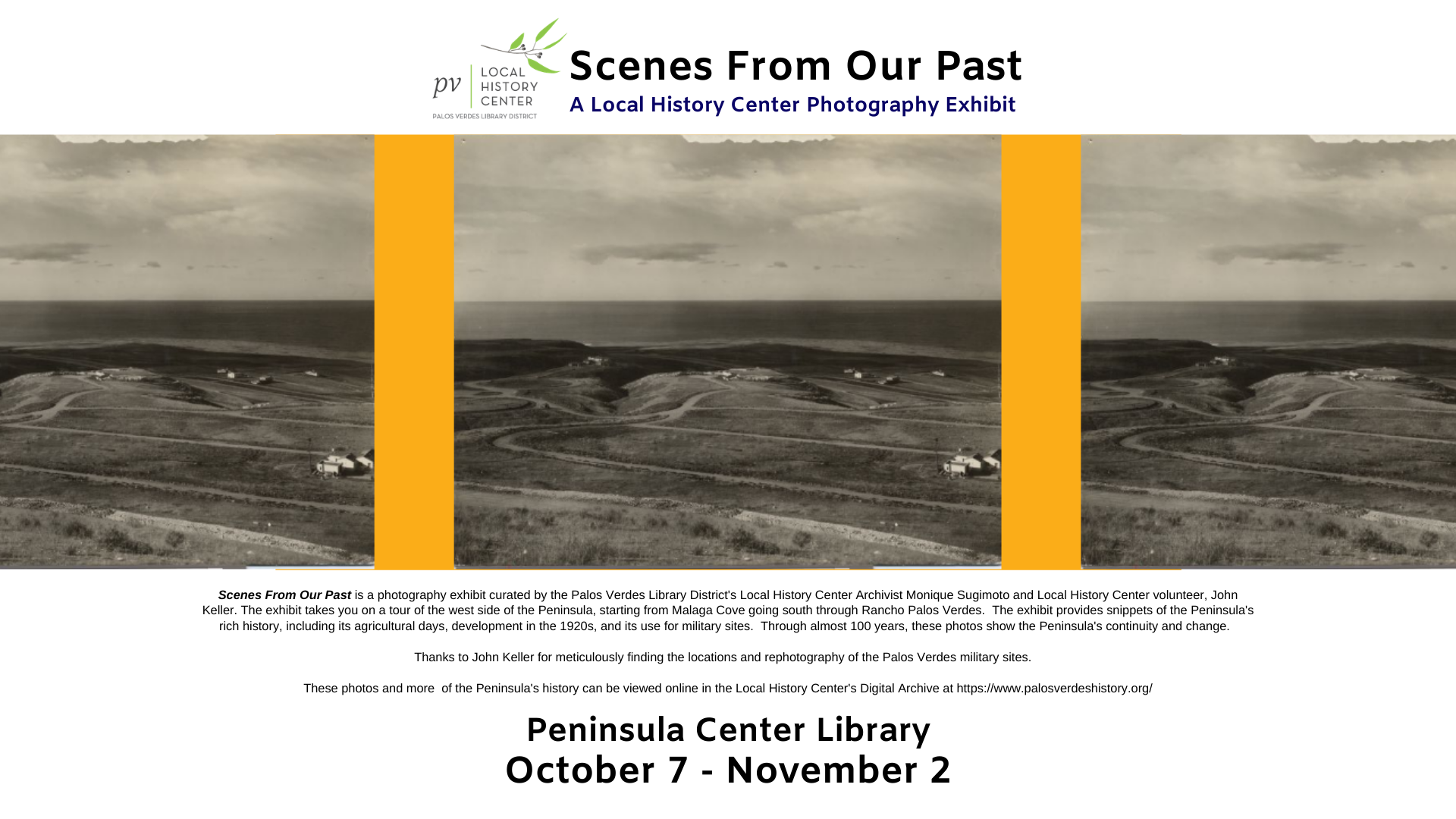 AIOL - Scenes From Our Past Local History Center Photo Exhibit