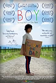 """Cover of DVD """"Boy"""""""