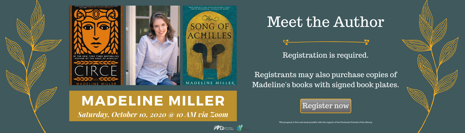 Meet the Author Madeline Miller