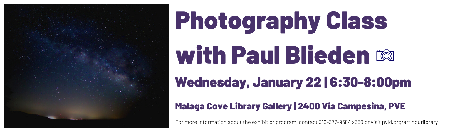 Malaga Cove Library Paul Blieden Jan 2020