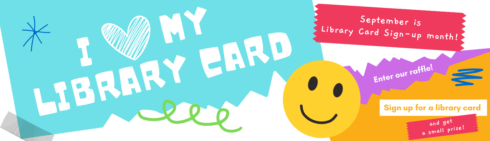 Library Card Sign Up Month