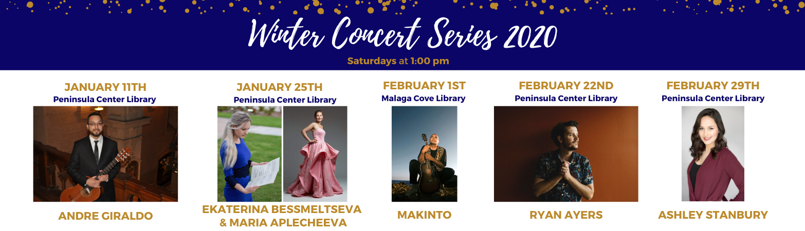 Winter Concert Series 2020