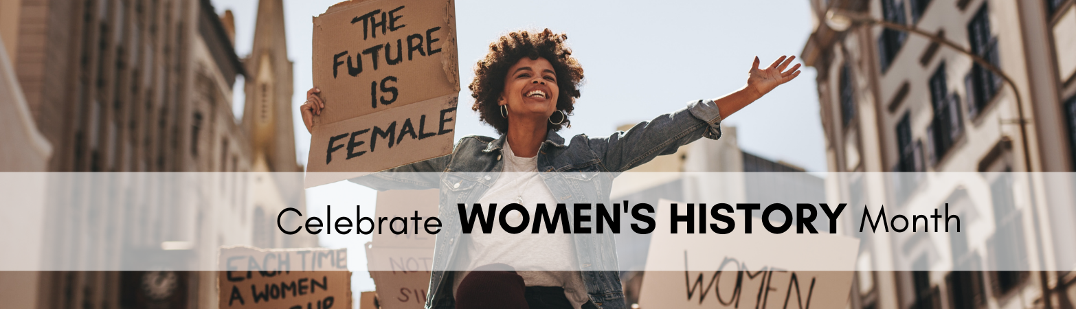 Women, The Future is Female sign