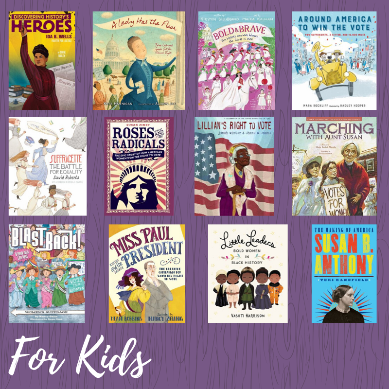Young Readers Womens Suffrage Books