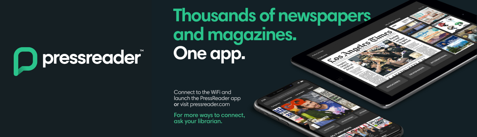 pressreader - magazines and newspapers